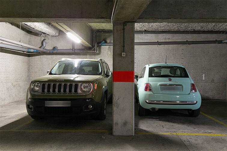 Parking Ménilmontant - Paris 11 caméra