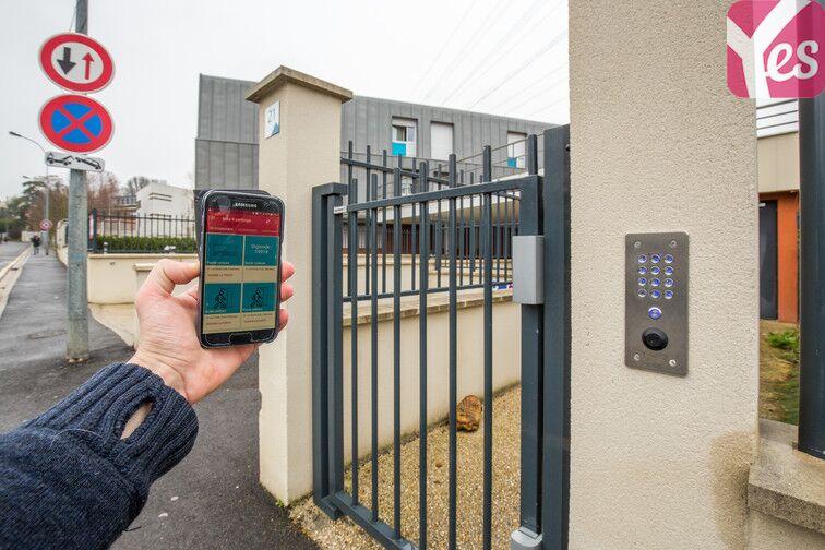 Parking Zone d'activités Les Glaises - Centre-Sud - Palaiseau sécurisé