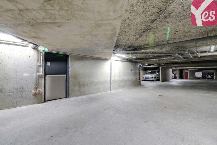 Parking Saint-Ouen RER - Clichy caméra