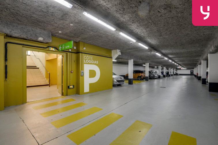 Parking Université de Versailles Saint-Quentin - Montigny-le-Bretonneux caméra