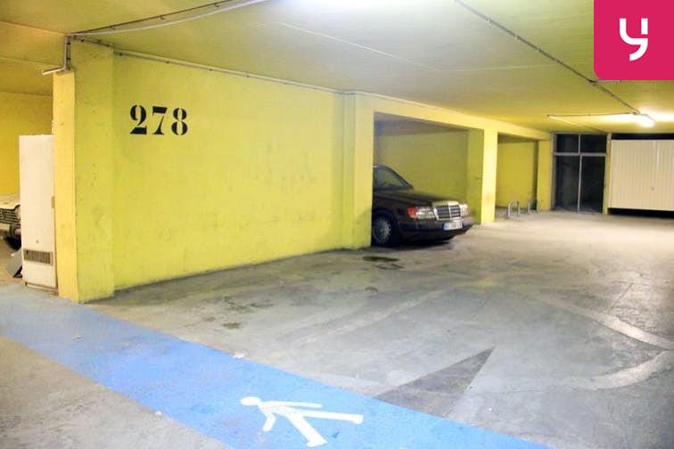 Parking Porte de Vanves souterrain