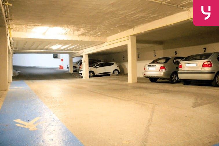 Parking Porte de Vanves gardien