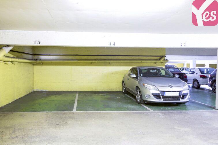 Parking Gare de Clermont-Ferrand - Delille - Cathédrale souterrain