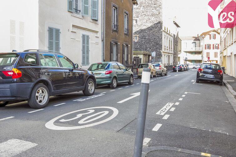 Parking Gare de Clermont-Ferrand - Delille - Cathédrale caméra
