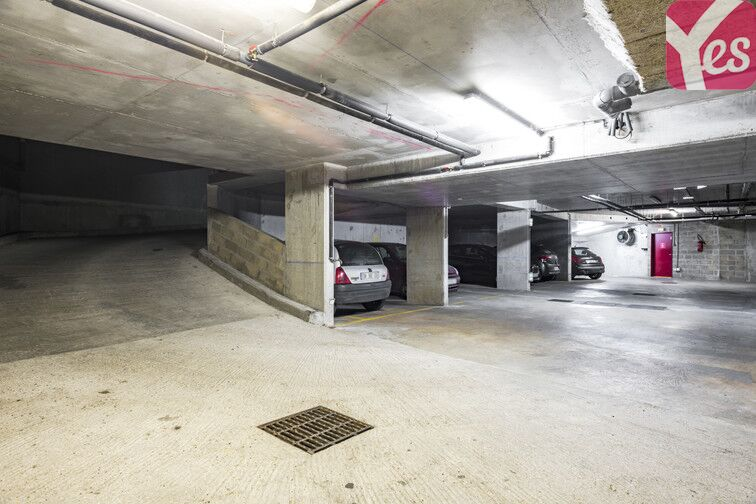 Parking Place du Colonel Fabien - Paris 19 souterrain