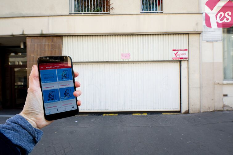 Parking Philippe Auguste - Paris 11 garage