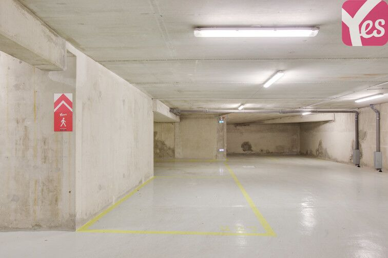 Parking Porte de Bagnolet - Saint-Blaise - Paris 20 caméra