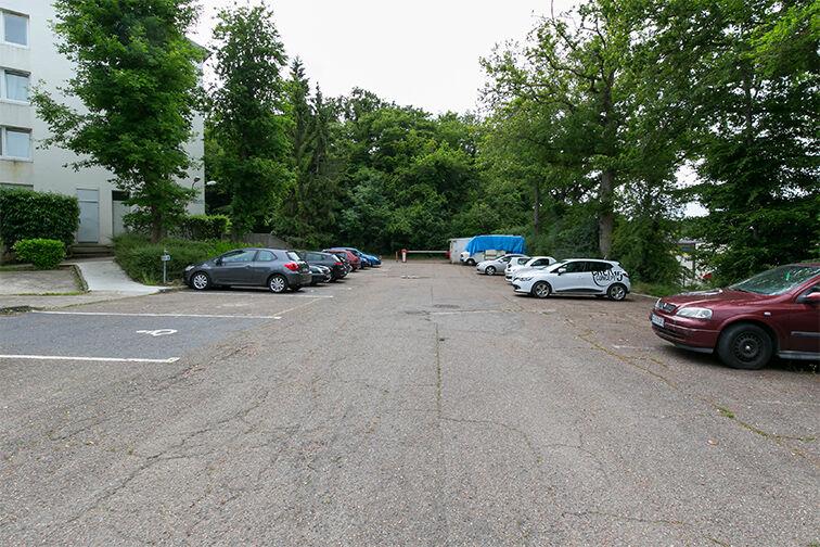 Parking Centre-ville - Dourdan (aérien) Dourdan