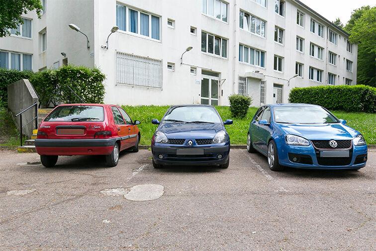 Parking Centre-ville - Dourdan (aérien) location mensuelle