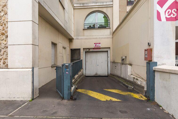 Parking Daumesnil caméra