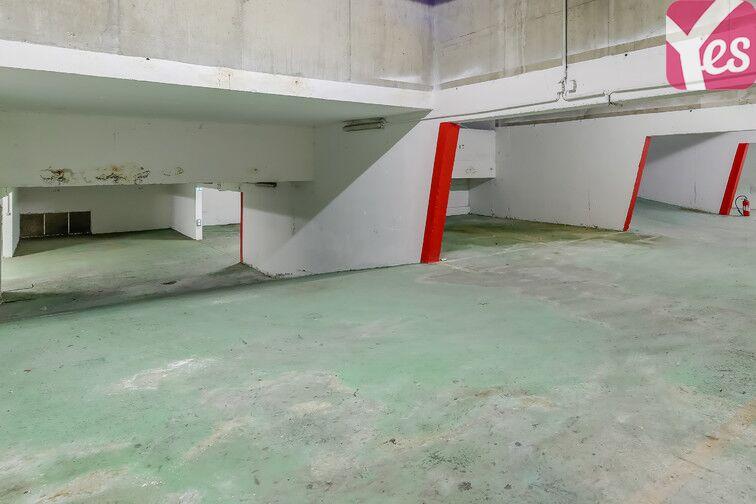 Parking Ménilmontant - Square du Docteur Granchet - Paris 20 garage