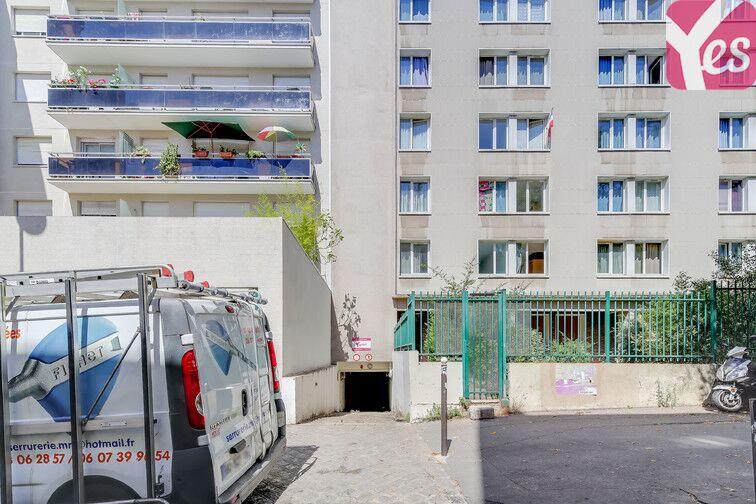 Parking Ménilmontant - Square du Docteur Granchet - Paris 20 sécurisé