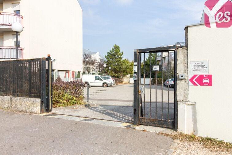 Parking Maladière - Dijon sécurisé