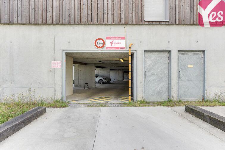 Parking Basse Chênaie - Doulon Bottière - Nantes caméra