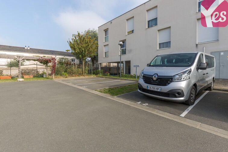 Parking Les Hauts de Saint-Aubin caméra