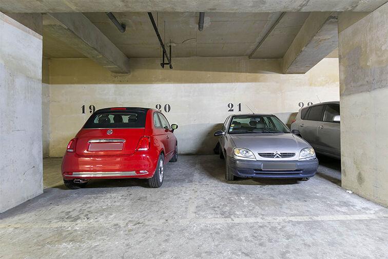 Parking Pré-Saint-Gervais caméra