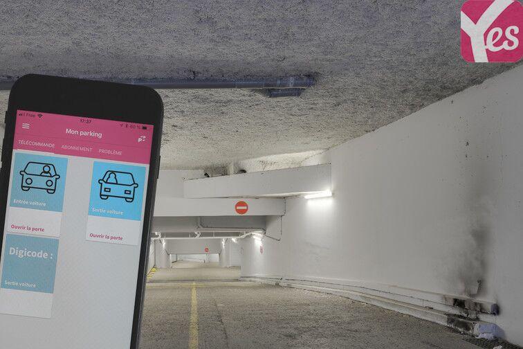 Parking Entrée de ville - Clichy gardien