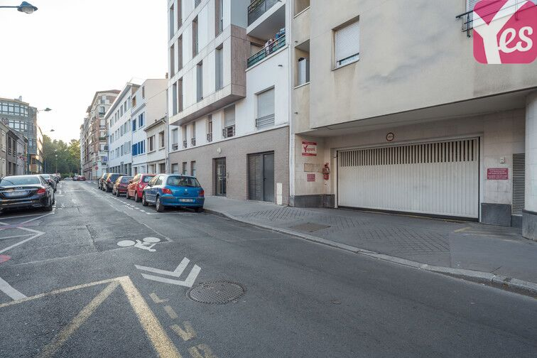 Parking Centre-ville - Rue Palloy - Clichy 24/24 7/7
