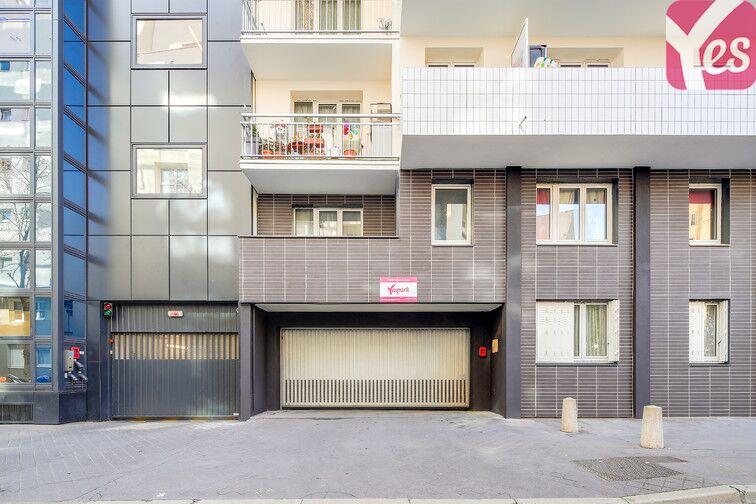 Parking Gambetta - rue Arletty - Courbevoie caméra