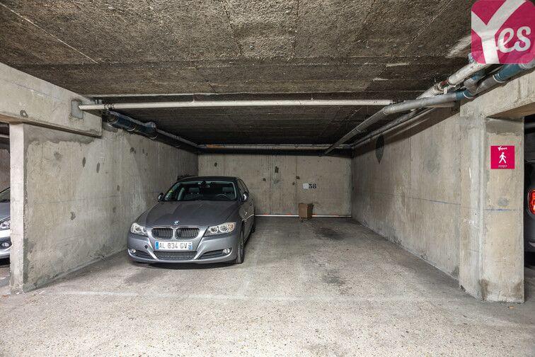 Parking Bécon - Courbevoie caméra