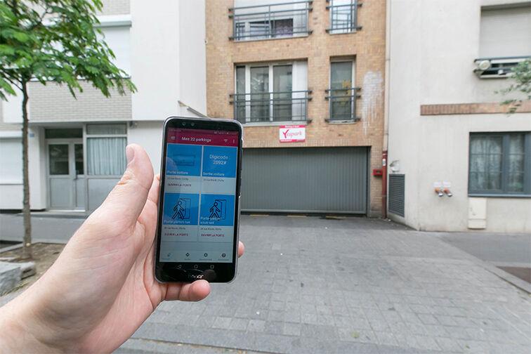 location parking Clichy - Hôpital Goüin
