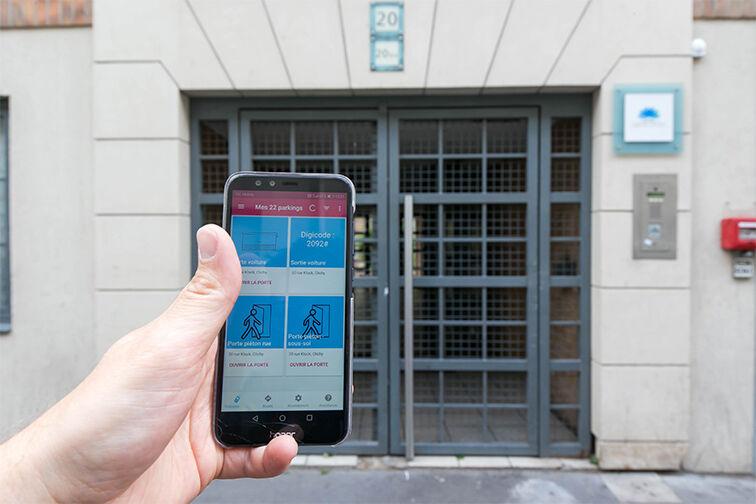 Parking Clichy - Hôpital Goüin location mensuelle
