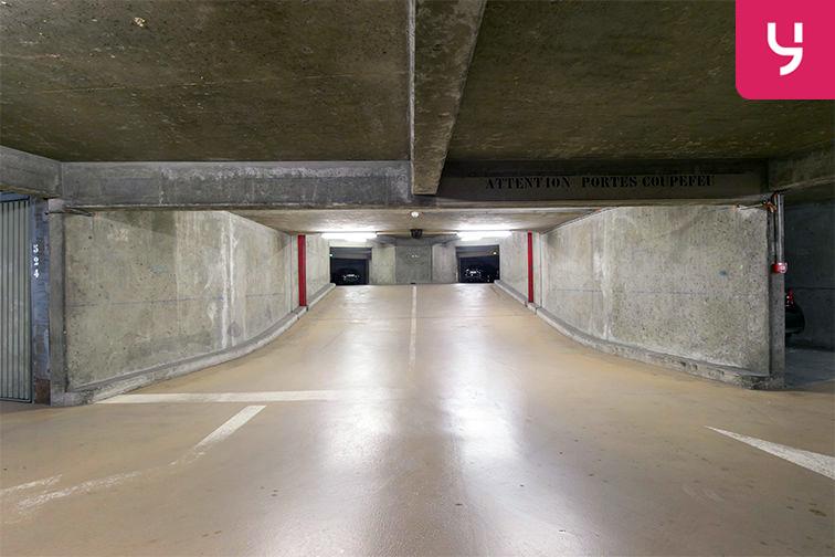 Parking Fouilleuse - Val d'Or - Saint-Cloud location mensuelle