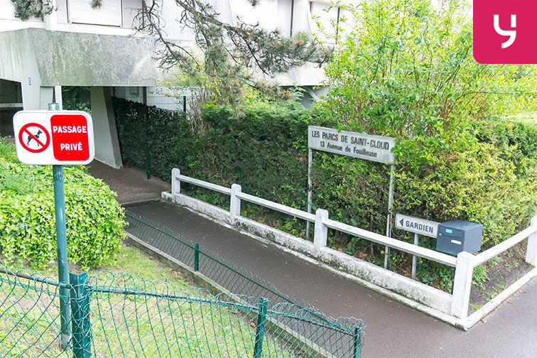 Parking Fouilleuse - Val d'Or - Saint-Cloud souterrain