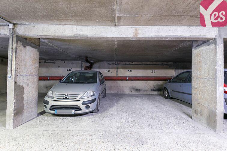 Parking Le Bourget RER - rue du Chevalier de la Barre - Le Bourget location mensuelle