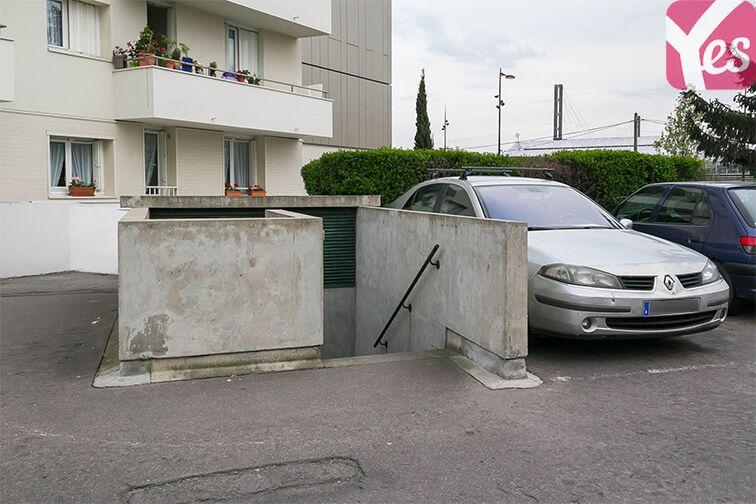 Parking Le Bourget RER - rue du Chevalier de la Barre - Le Bourget souterrain