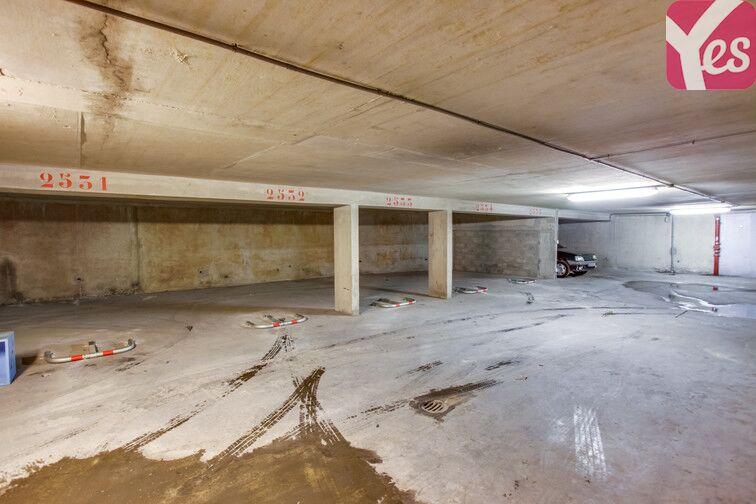 Parking Centre-ville du Bourget - rue du Président Wilson caméra