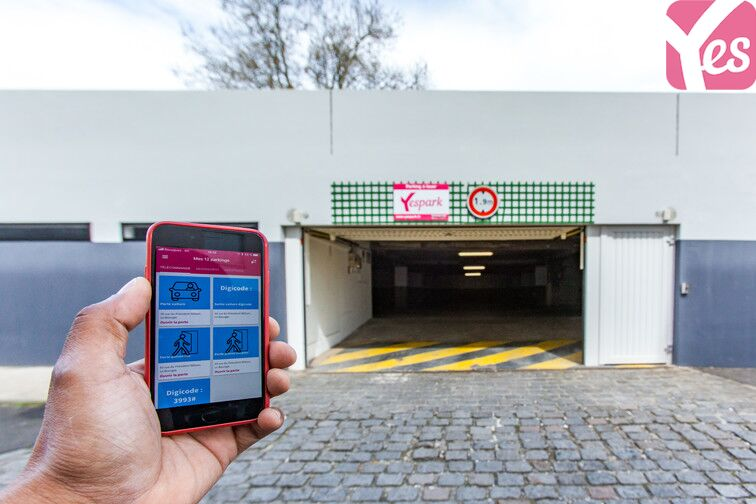 Location parking Centre-ville du Bourget - rue du Président Wilson