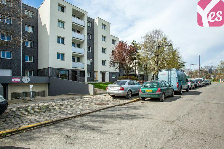 Parking Centre-ville du Bourget - rue de l'Egalité sécurisé