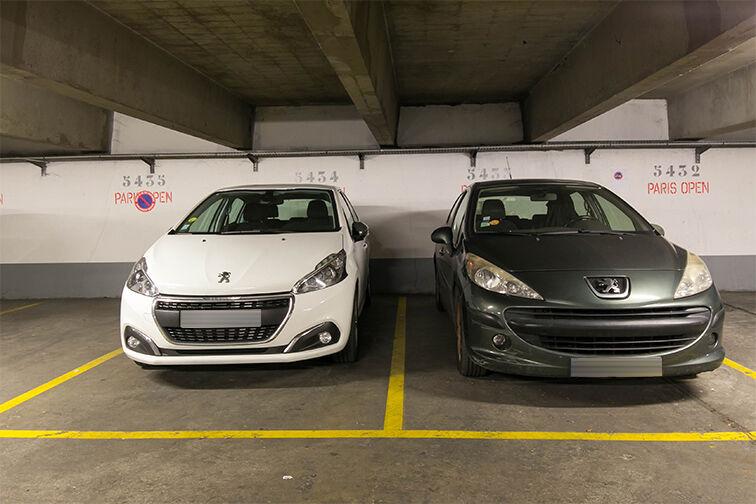 Parking Olympiades - Porte de Choisy - Paris 13 caméra