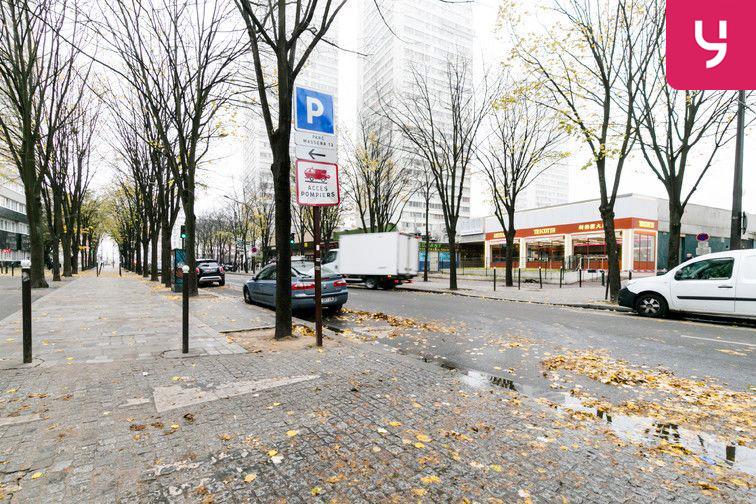 Parking Paris 13 - Olympiades - Choisy - Porte de Choisy box