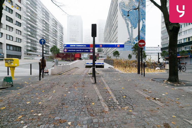 Parking Paris 13 - Olympiades - Choisy - Porte de Choisy caméra