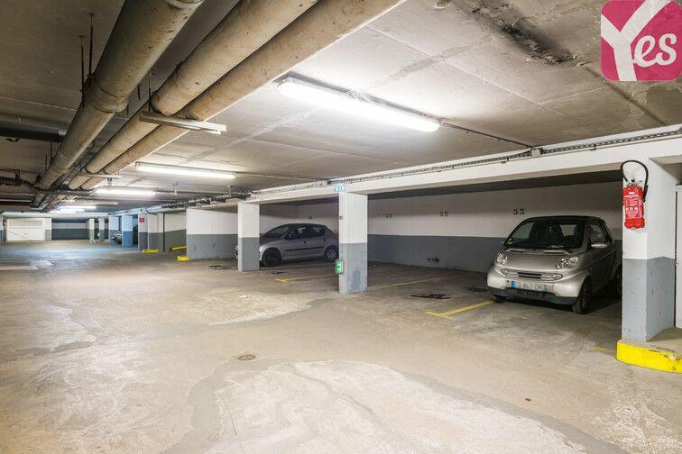 Parking Plaisance - rue d'Alésia gardien