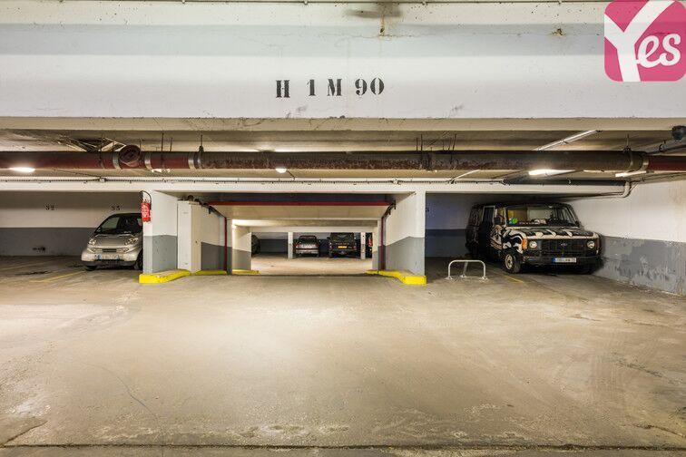 Parking Plaisance - rue d'Alésia sécurisé