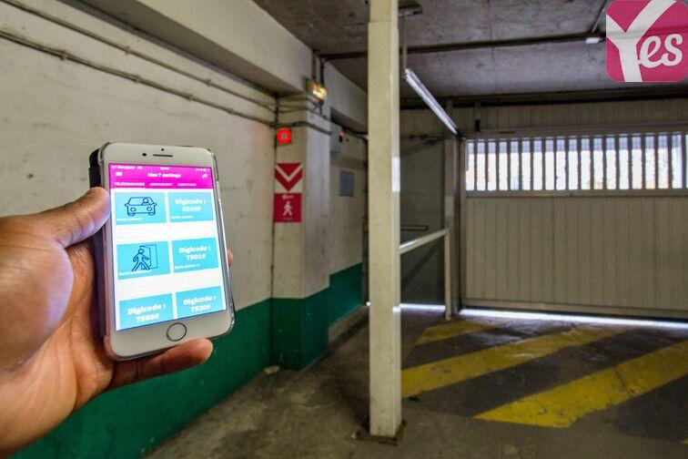 Parking Hôpital Saint-Joseph - Paris 14 souterrain