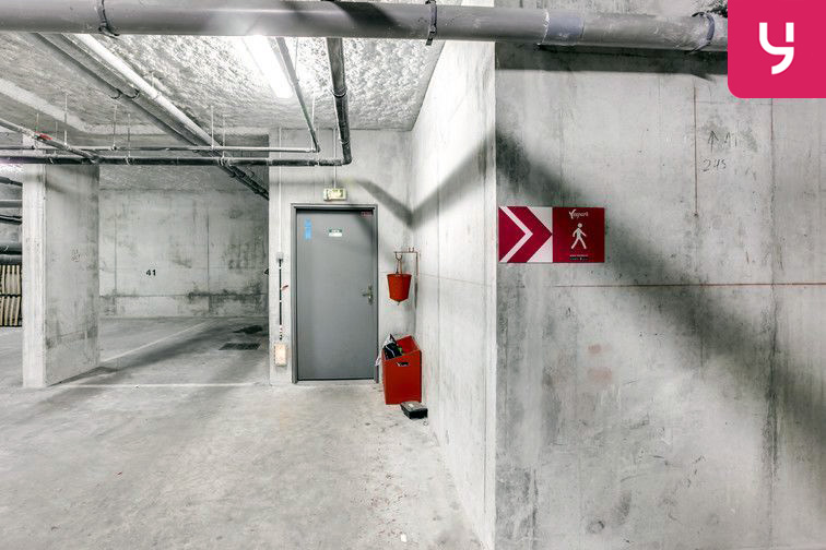 Parking Guynemer - Rue de Malakoff - Châtillon cctv