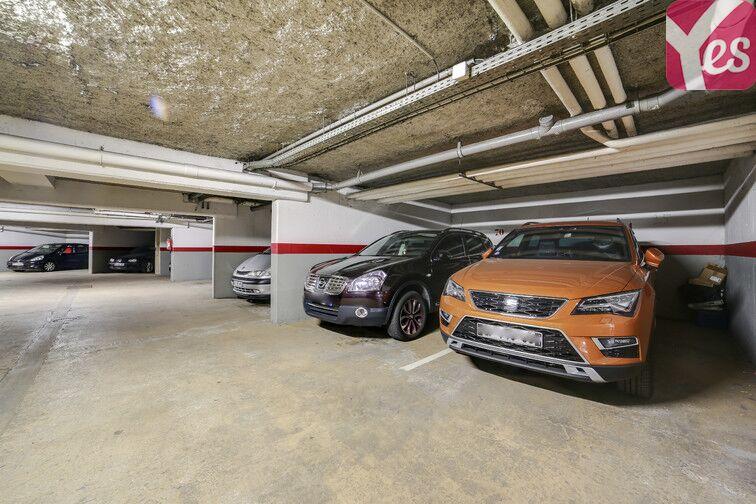 Parking Les Pyramides - Rue Paul Claudel - Evry sécurisé