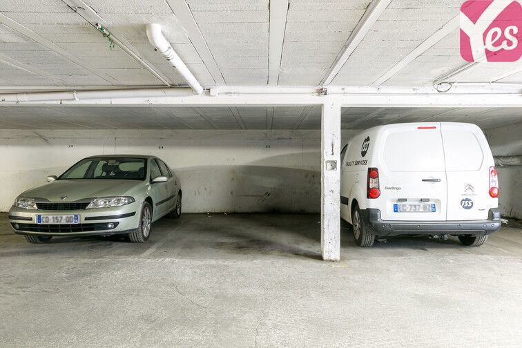 Parking Ariane - Rue des Coteaux - Nice caméra