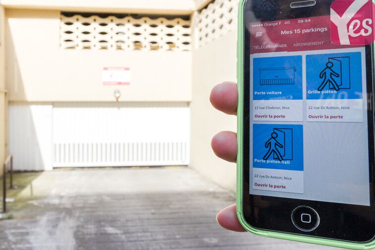 Location parking Riquier - Av. Des Diables Bleus - Nice