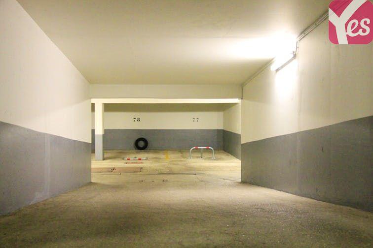 Parking Crimée - La Villette souterrain