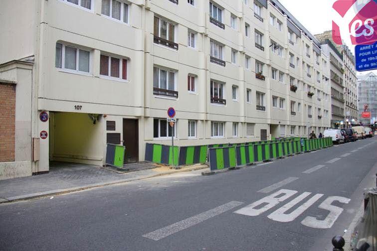 Parking Crimée - La Villette gardien