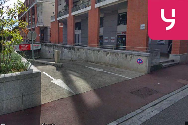 location parking Gare de Toulouse Matabiau - Marengo SNCF