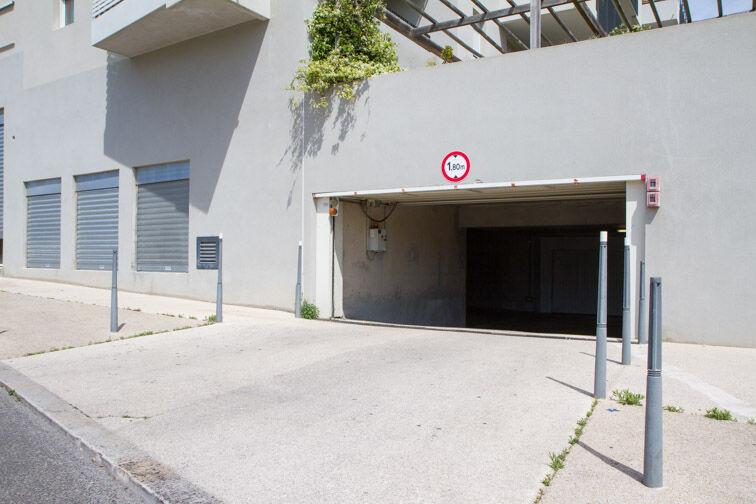 Parking Le Merlan - Marseille 14 sécurisé
