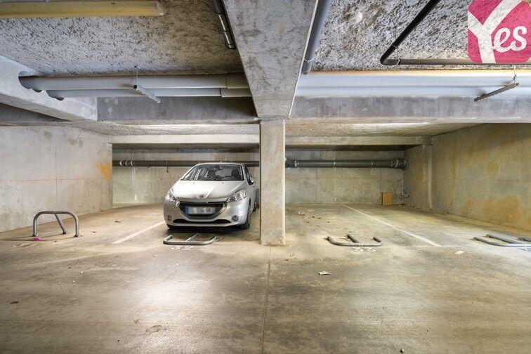 Parking Montchapet - Dijon sécurisé