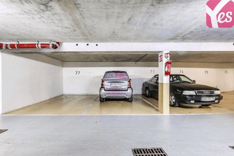 Parking Versailles - Montreuil - rue Bazin location mensuelle