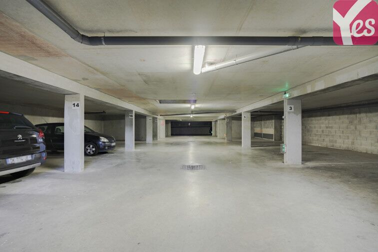 Parking Alliés - Alpins - Beauvert box